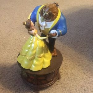 Beauty and the beast music box